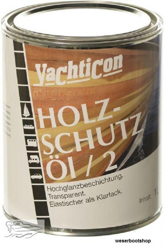 Yachticon Holzschutz Ol 2 Hochglanzbeschichtung 1000 Ml 2