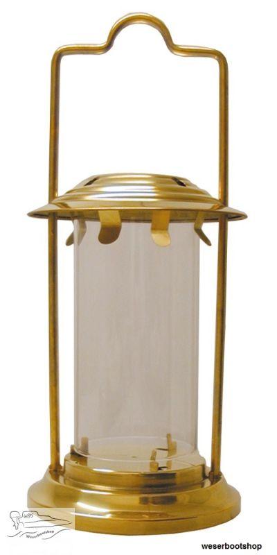 sturmlampe f r kerzen messing h he 23 cm 20 00. Black Bedroom Furniture Sets. Home Design Ideas